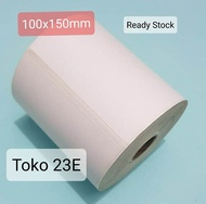 Label Barcode 100X150mm Sticker Thermal100x150mm