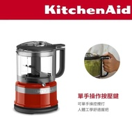 【KitchenAid】3.5 cup 升級版迷你食物調理機(經典紅)