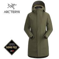 【ARCTERYX 始祖鳥 加拿大】Durant 保暖防水大衣 GORE-TEX 化纖外套 女款 森林綠 (L07264800)