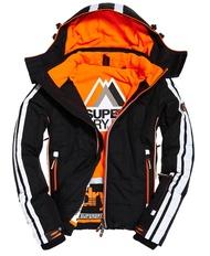 跩狗嚴選 極度乾燥 Superdry 男款 Slalom 黑白 黑橘 滑雪夾克 防寒 防風防水 雪衣 風衣 外套