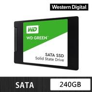 【WD 威騰】綠標_240GB SATA TLC 固態硬碟(讀:545M)