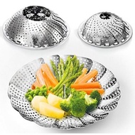 Two-Pack (Large And Standard) Vegetable Steamer Basket Set - 2X Steamer Inser For Instant Pot + Safety Tool - 100% Stainless Steel - Instant Pot And Pressure Cooker Accessories - intl