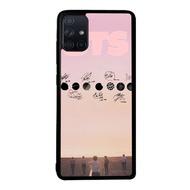 Case Samsung Galaxy A51 A71 Bts Kpop L0482 Soft Hard Diy Custom Phone Case Casing