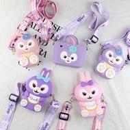 Disney StellaLou Mini Bags Cartoon coin purse shoulder bag cute small gift decoration bag