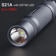 ไฟฉายConvoy S21Aพร้อมLuminus SST40ไฟฉายLed S2 Plus 21700รุ่นFlash Light 2300lm 18650 Lanternaแคมป์ทำงาน