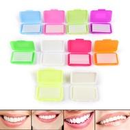 ขี้ผึ้งจัดฟันสำหรับ Braces GUM ระคายเคืองช่องปากทันตกรรมจัดฟัน Ortho WAX Mint Apple ORANGE Strawberry องุ่น