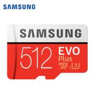Samsung 三星 EVO Plus microSDXC 512GB 高速記憶卡/讀:100MB 寫:90MB (MB-MC512GA)