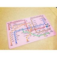 [捷運月票卡]台北捷運路線圖 悠遊卡 300元