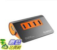[8玉山最低比價網] Orico/奧睿科 高速USB3.1分線器擴展HUB電腦集線器轉換器多介面 相容3.0 帶電源獨立供電
