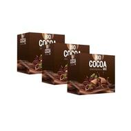 Bio Cocoa Mix ผลิตภัณฑ์เสริมอาหารโกโก้ คุมหิว เหมาะกับสายบุฟเฟต์ ชาบู กินจุกจิก ( 3 กล่อง )