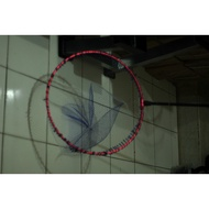 折疊 圓框 鈦合金磯網框(現貨) 框直徑   附高級網 海釣 磯釣 摺疊撈網