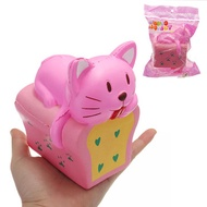 Bread Cat Squishy 9*12CM Slow Rising With Packaging Collection Gift Soft Toy