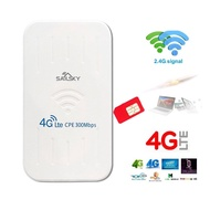 4G Router CPE 4G Wireless Router Outdoor เราเตอร์ ใส่ซิมปล่อย Wi-Fi 300Mbps 4G LTE sim card Wireless Router