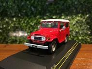 1/43 First Toyota Land Cruiser FJ40 1973 Red F43145【MGM】