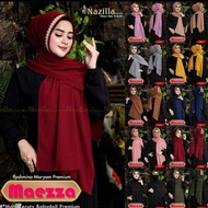 Pasmina Hijab Rempel Payet Bando Free Masker Tali Belakang Maezza - Pashmina Model Terbaru ORI Nazilla - Kerudung Wanita Dewasa Termurah Terlaris