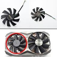 ใหม่85Mm Coolerพัดลมเปลี่ยนสำหรับZOTAC GTX 1060 1070TI 1080Ti MINI AMPการ์ดจอพัดลมทำความเย็นDIY