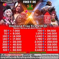 TOP UP DM FF TERMURAH-Diamond Free Fire / DM FF / ff / freefire / diamonds freefire / top up ff