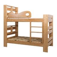轉讓 全新尚未取貨 揚龍原木床加梯櫃  H168姐妹上下床/上下舖+H169獨立梯櫃