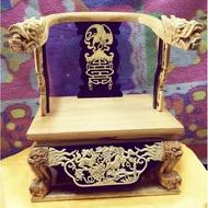 龍椅双色8寸8貼1尺3高