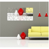 Geometric Puzzle Combination Mirror Mirror Ice Stickers Wall Stickers