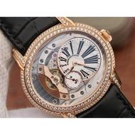 AP/愛彼 千禧系列15350鏤空鑲鑽男士自動機械錶 出貨前實拍