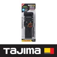 日本 田島Tajima 鍛造鋁插扣式S腰帶 S號 經典黑 BWBS110-BK