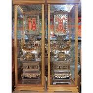 2尺7福壽雙獅燈 材質: 50%錫製 大臺南宴王藝品