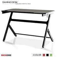 RICHOME DE269  電競玩家電腦桌(附杯架)-3色  辦公桌 電競桌 書桌  電腦桌 工作桌