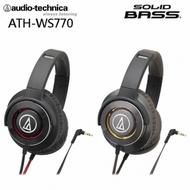 (贈日式加濕器)鐵三角 ATH-WS770 重低音 頭戴型 耳罩式 耳機 |聖誕禮物  交換禮物  尾牙獎品