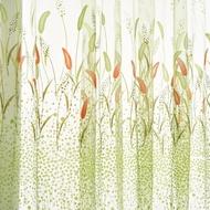 ❤️Setaria Viridis Sheer Curtain Rod Pocket Gauze Voile Curtain