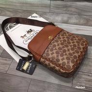 กระเป๋าแบรนด์Coachงานปั๊ม Size.10 ขนาดโดยประมาณอุปกรณ์ ที่ได้รับ ถุงผ้า การ์ด