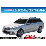 ∥MyRack∥Benz C-Class W204 5 Door Estat WHISPBAR專用車頂架