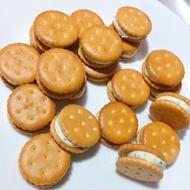 [年節禮糖]手工熬糖小奇福牛軋糖(不用棉花糖)素食可 完全不甜又酥脆可口 獨立包裝