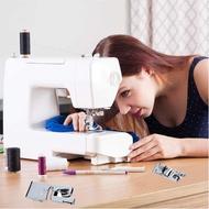 4 Pieces Hem Foot Narrow Rolled Hem Foot Sewing Machine Hemmer Presser Foot Set Suitable for Household Sewing Machines
