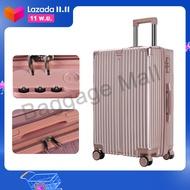 HANK 7703&003 กระเป๋าแบบซิป กระเป๋าเดินทาง การเป๋าเดินทางล้อลาก วัสดุ PC100% การเป๋าเดินทาง 20 24 28 นิ้ว แฟชั่น ญี่ปุ่น Traveler Bags