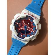 【全球購】卡西歐G-Shock手表男GA-110GB美國隊長G Shock運動電子防水腕表Gshock