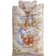 全新 彼得兔 Peter Rabbit 田園童趣兒童兩用睡袋+小枕