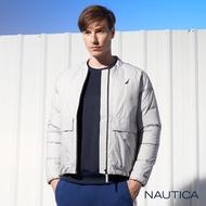 【NAUTICA】極保暖防寒輕羽絨外套(灰色)