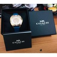 【現貨一只】全新 正品 COACH 經典美錶 橡膠錶帶