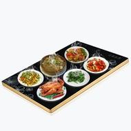 飯菜保溫板家用智慧多功能暖菜寶加熱器熱飯餐桌盤恆溫熱奶墊省電WD  初語生活館