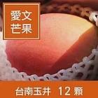 【一籃子】外銷日本A+等級台南玉井【愛文芒果】10斤12粒