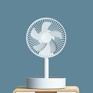 充電式風扇 伸縮折疊無線風扇便攜式多功能電風扇靜音搖頭遙控可充電落地扇家用臺式學生宿舍床上戶外夏天桌面P11小風扇【停電必備】【XXL7055】
