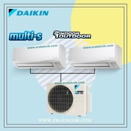 AC SPLIT WALL MULTI S DAIKIN 1/2PK+1/2PK INVERTER THAILAND