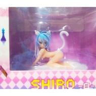 SHIRO白貓造型公仔