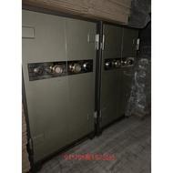 桃園國際二手貨中心-----大型雙門對開保險箱 金庫