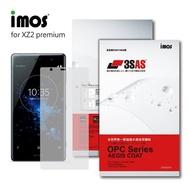 【iMos】Sony Xperia XZ2 Premium(3SAS 螢幕保護貼)