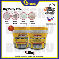 5kg Putty Filler (dempul) - Ready Stock!!!