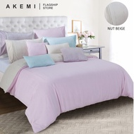 AKEMI Tencel Touch Clarity - Diletta (Nut Beige / Quilt Cover Set)