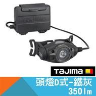 頭燈D式-鐵灰【日本Tajima】