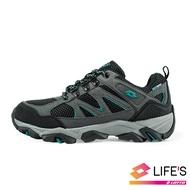 LOTTO樂得義大利第一品牌 男款Sabre 3 戶外運動鞋 越野鞋 登山鞋 [1176] 灰藍【巷子屋】